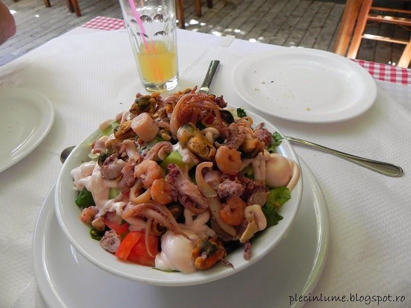 Fructe de mare in Thassos