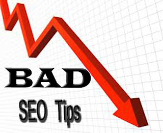 bad seo tips in blogger