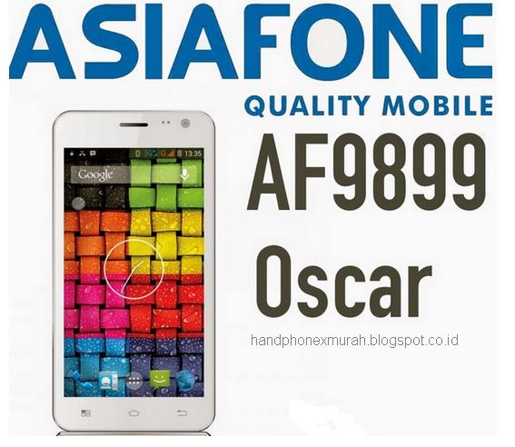 Unboxing Asiafone AF9899 Oscar - Android Canggih 600 Ribuan