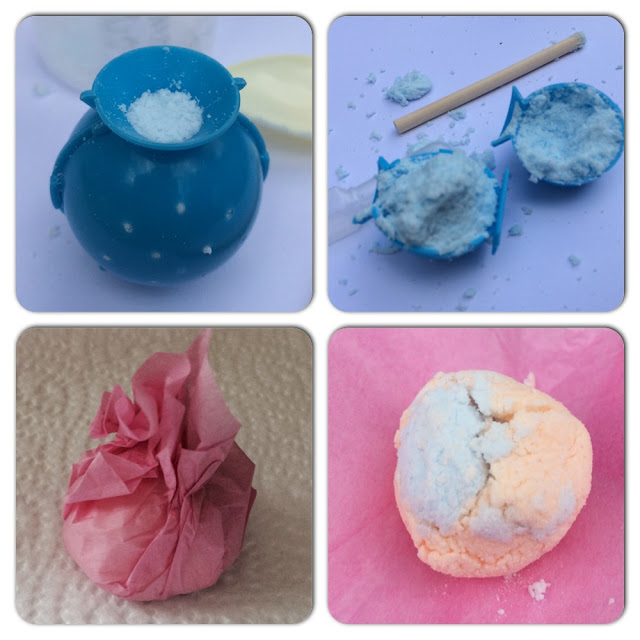 Making Bathbombs with Fablab from Interpay