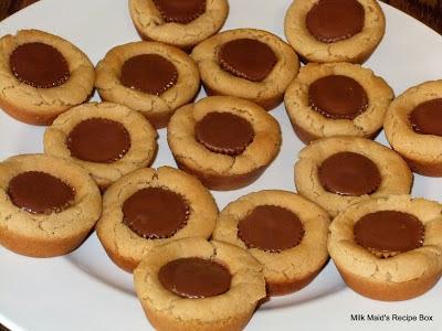 Peanut Butter Muffin Tin Cookies