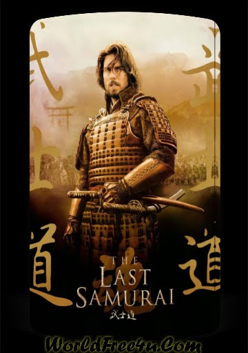 Poster Of Movie The Last Samurai (2003) Bluray Rip 720P HD Dual Audio Hindi & English Free Download At worldfree4u.com