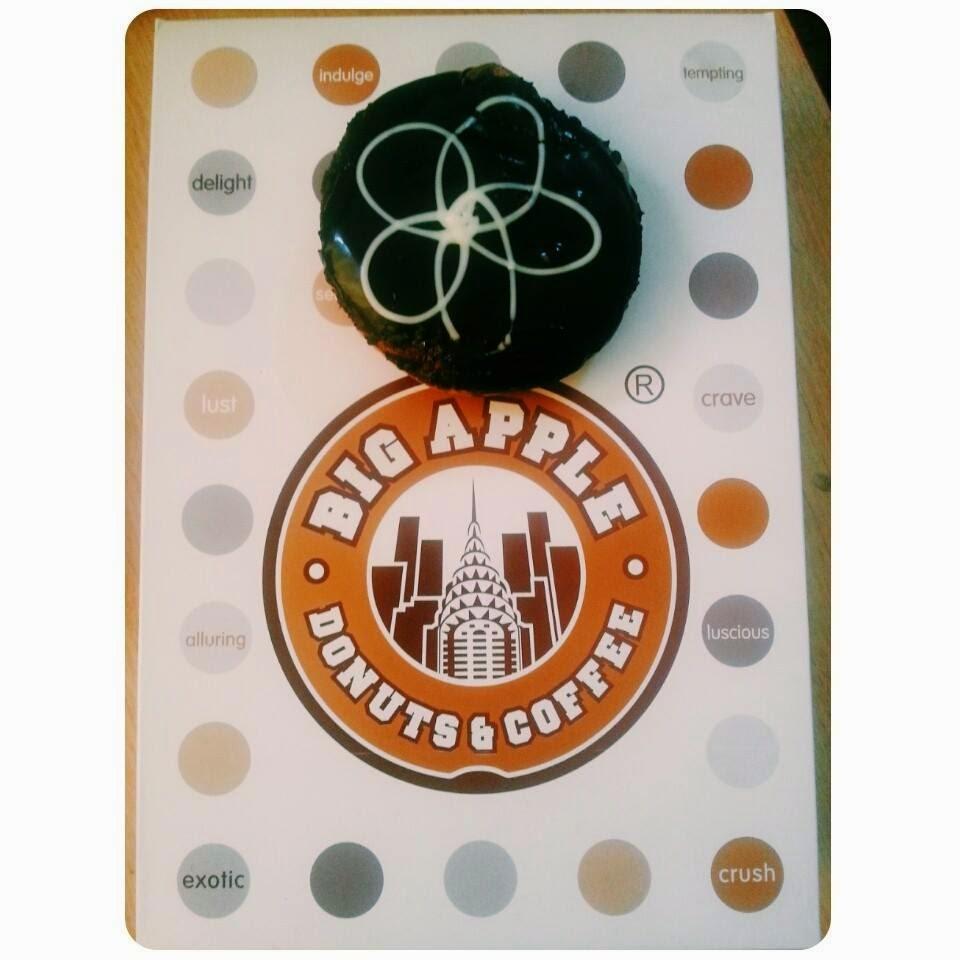 donut coklat sedap
