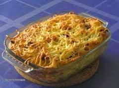 Resep Praktis dan mudah membuat kue makaroni schotel panggang