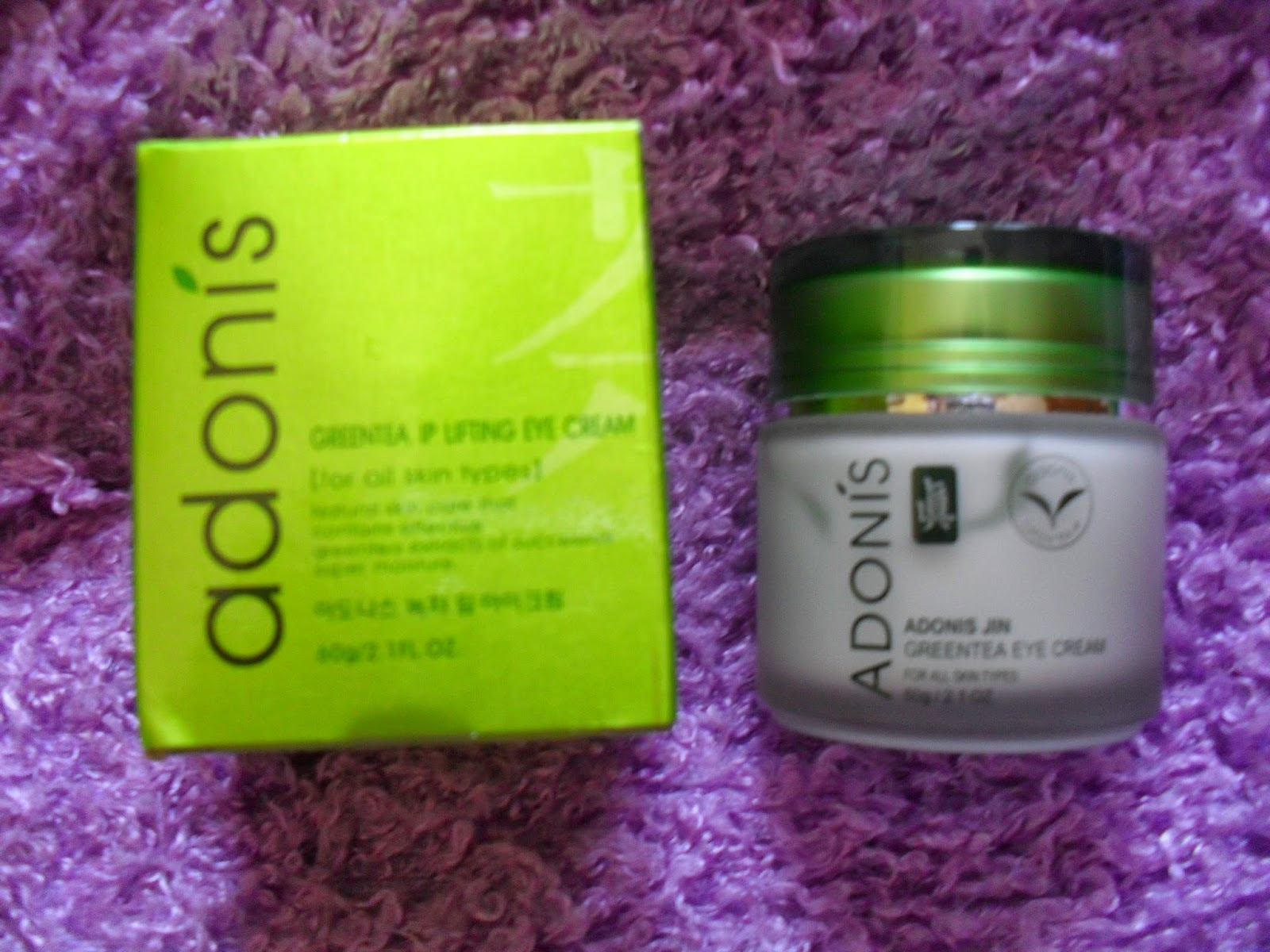 Green Tea & Lifting Eye Cream Adonís