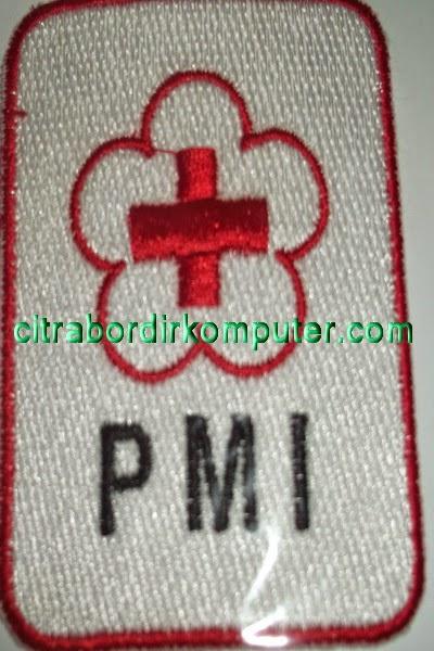 logo atribut bordir komputer PMI