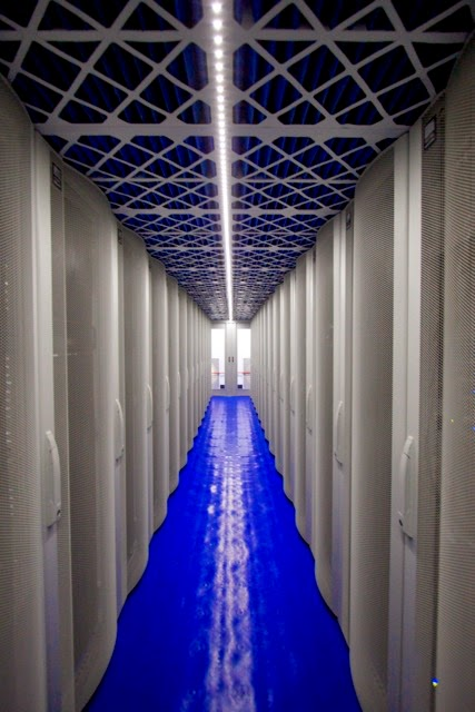 Evaporative Cooling System in a datacentre