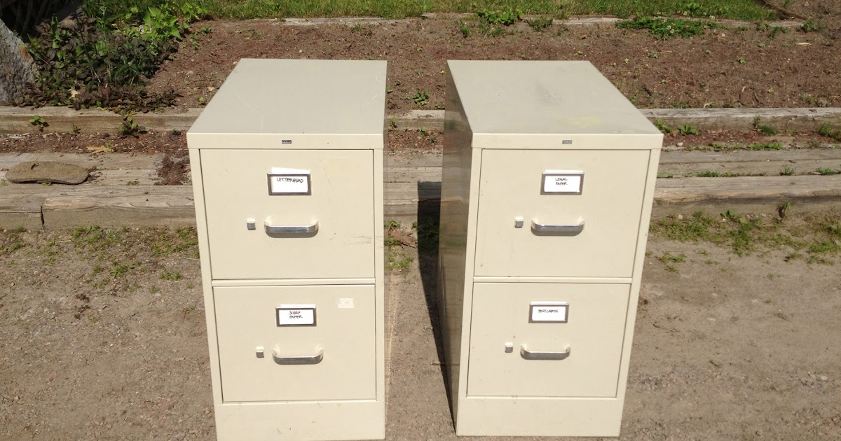 File Cabinet Revamp: Snazzy Sister State Storage