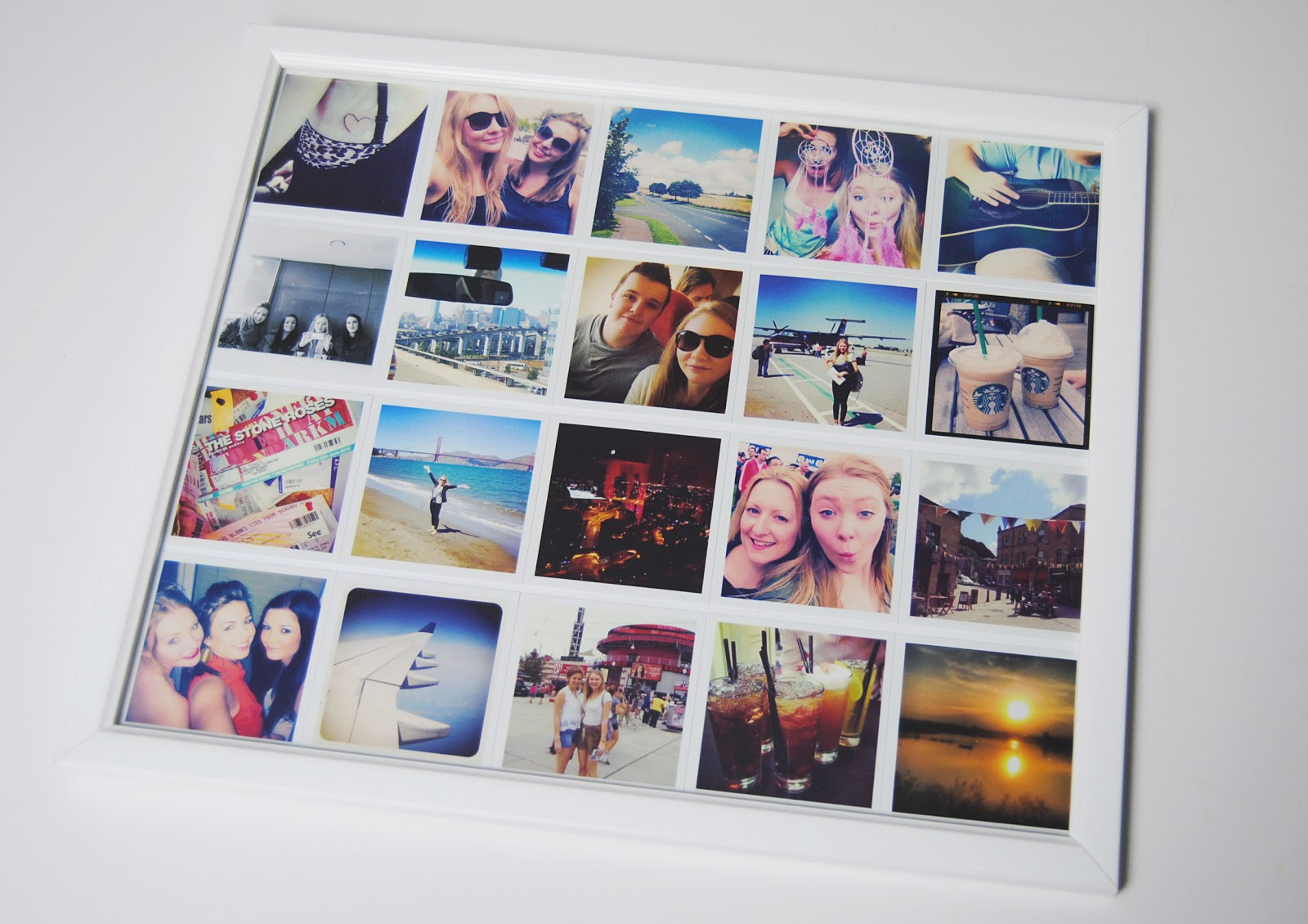 diy instagram collage