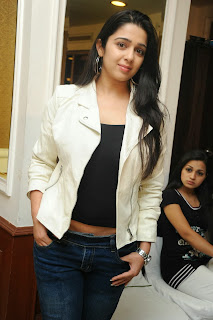 Actress Charmi Kaur Pictures in Jeans at One by Two Movie Celetes 20 Years Event  0138