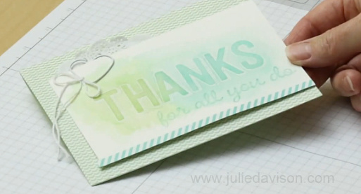 Stampin' Up! Sale-a-bration For Being You Watercolor Wash Technique VIDEO Tutorial #stampinup #saleabration