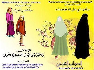 cara-hijab-modern-salah-benar