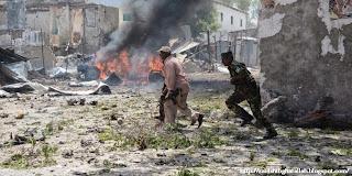Bom Bunuh Diri di Restaurant Somalia