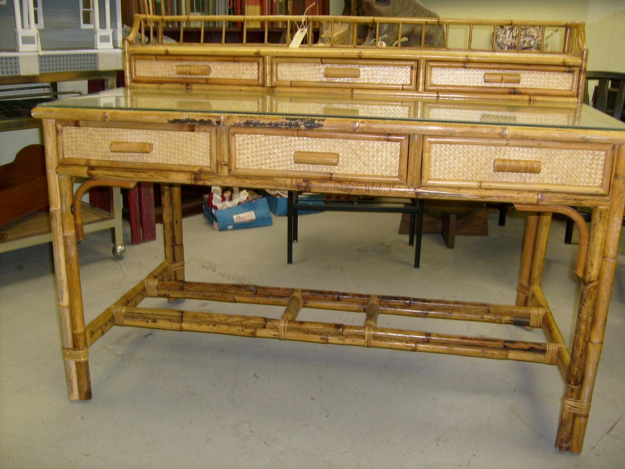 Bamboo Desk Bamboo Craft Photo