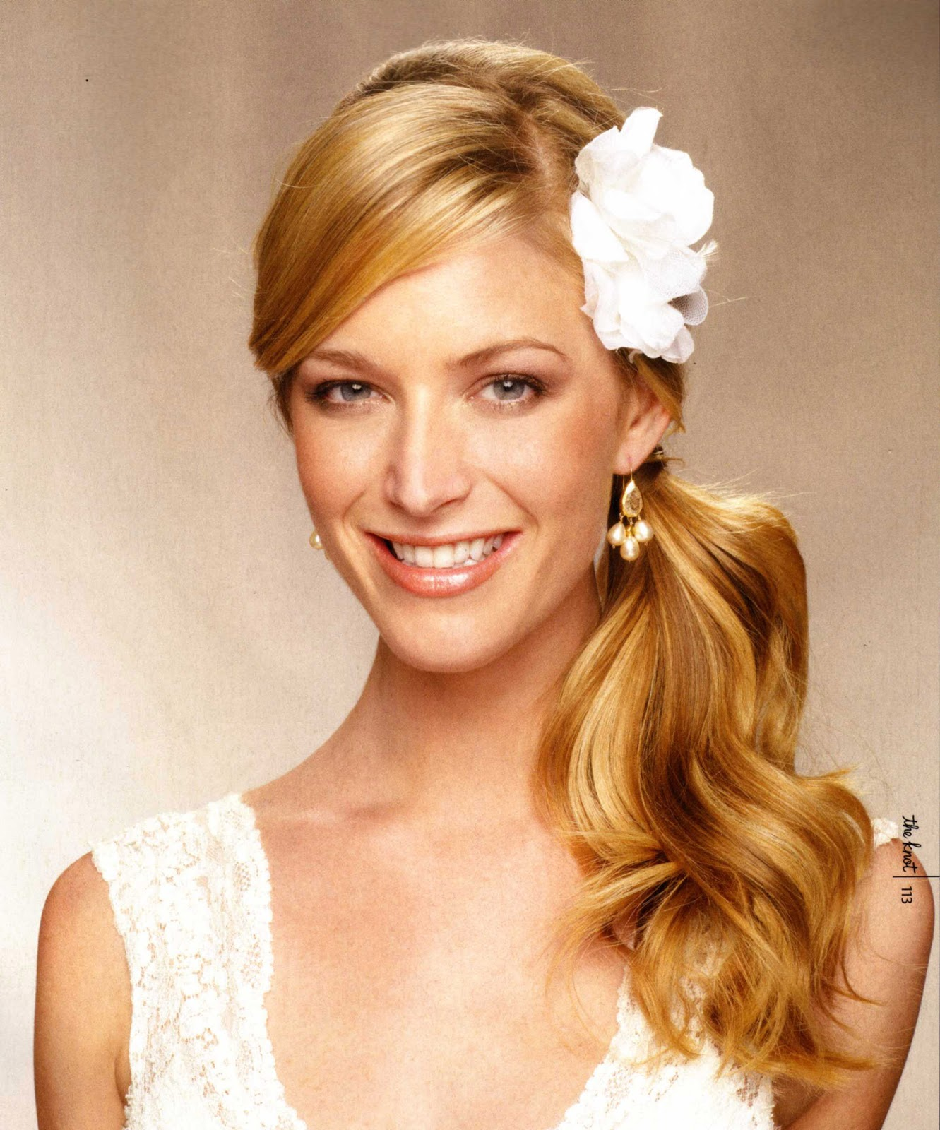 Long Hair Style For Your Wedding Wedding Bells