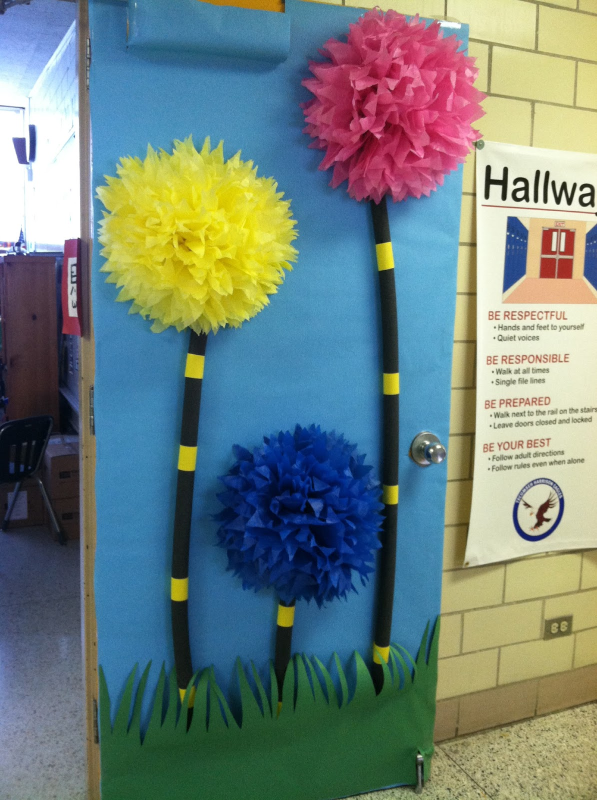 Classroom Door Decoration Ideas For March ~ Primary possibilities five for friday