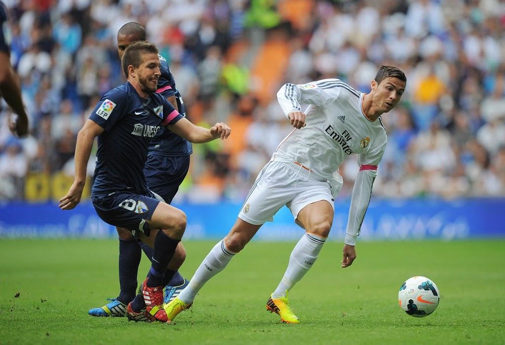 Tip kèo cá cược Real Madrid vs Malaga