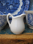 tiny ironstone pitcher