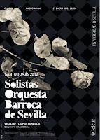 El 27 de enero de 2012, concierto de los solistas de la Orquesta Barroca de Sevilla en la iglesia de la Anunciación