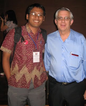 Me and Prof. Bruce Waldrif from Monash University, Australia