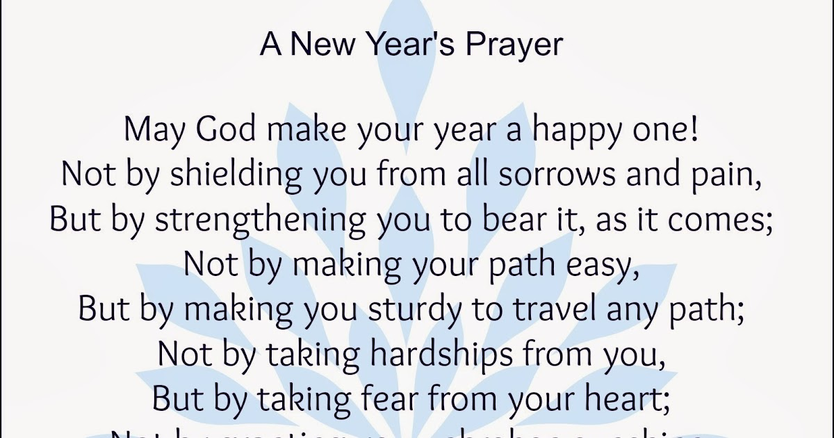 Heartprints of God: A New Year\'s Prayer~