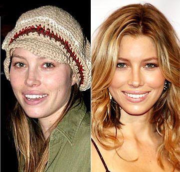 contour makeup before and after celebrity makeup tutorial trick