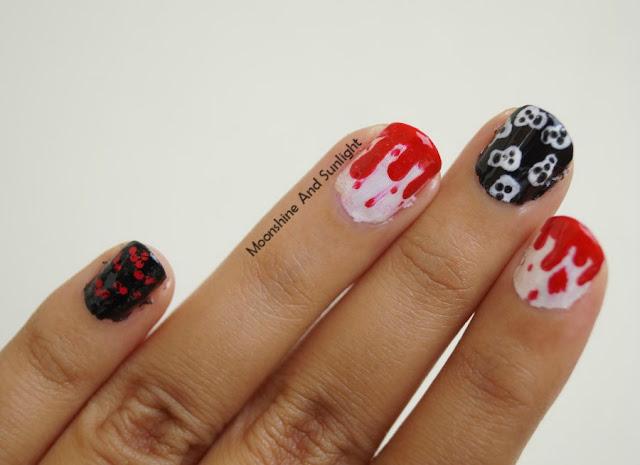 Halloween 2015 Nail Art