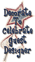 Decorate To Celebrate! GuestDesigner