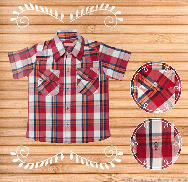 Camisas primavera verano 2016 nenes.