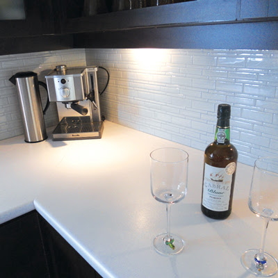 Inspired whims: removable (and stylish) backsplash ideas