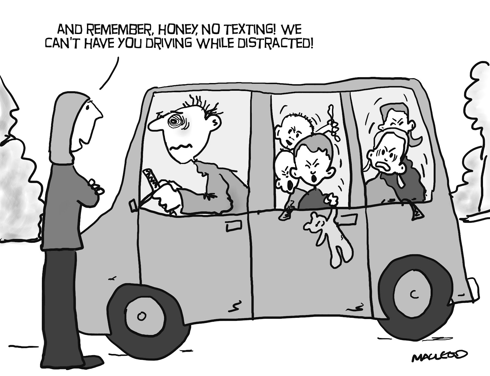 should texting while driving be banned Distracted driving: should talking, texting be banned texting is dangerous dialing is too but is hands-free technology that much safer.