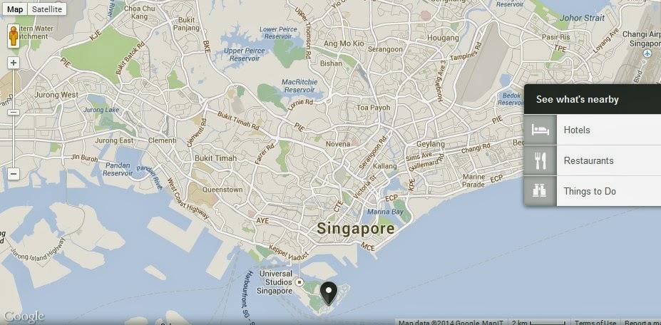 St Johns Island Singapore Location Map Alexandra Meier