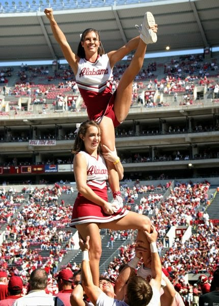 Alabama Crimson Tide  - Cheerleaders