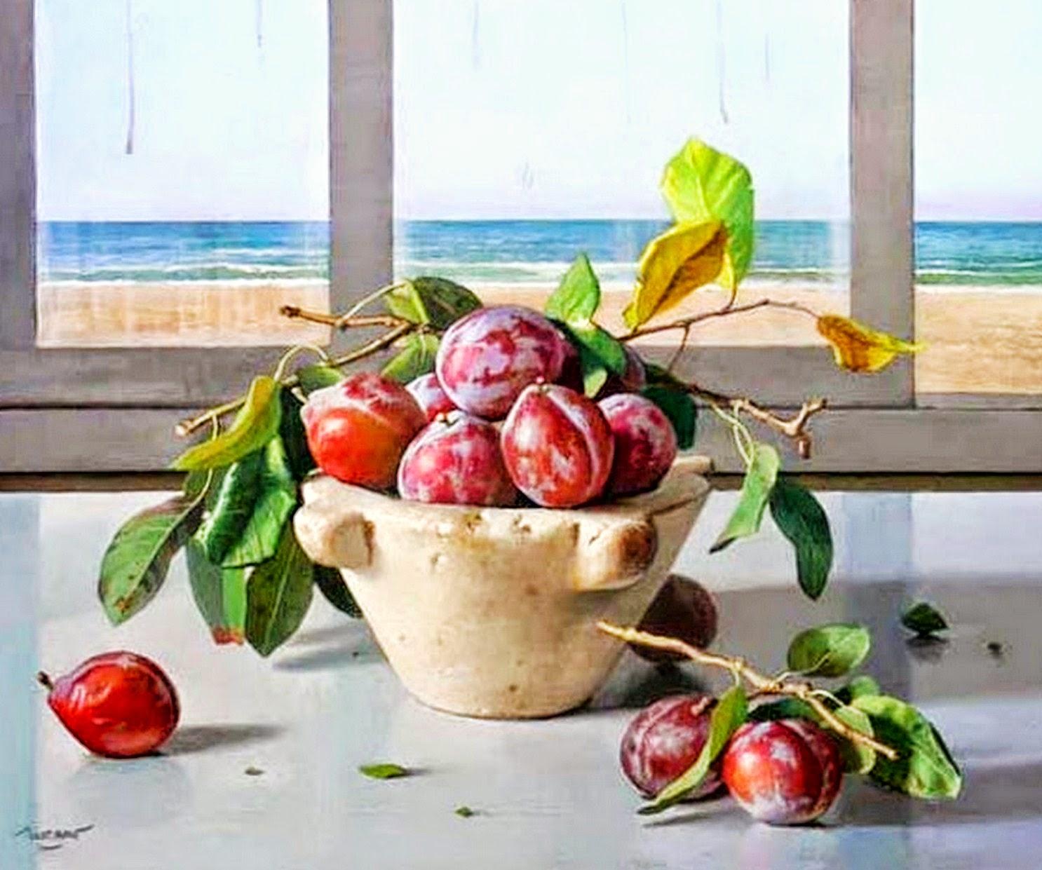 pinturas-al-oleo-de-frutas