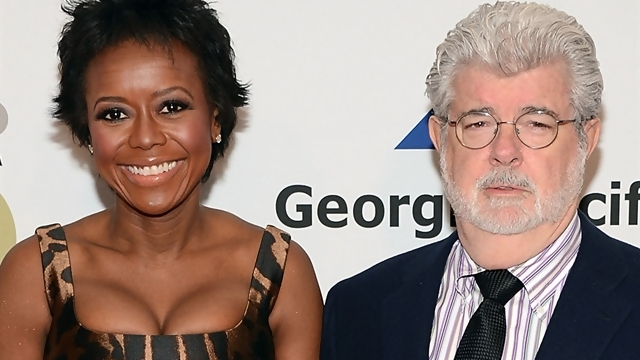 George Lucas   69  and wife Mellody Hobson   44  welcomed their first    George Lucas First Wife