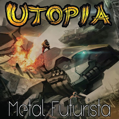 Utopía - Metal Futurista - CD + Libreto