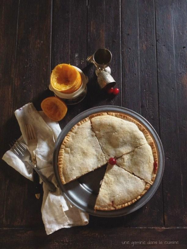 Cranberry Clementine Shortbread Cake | une gamine dans la cuisine