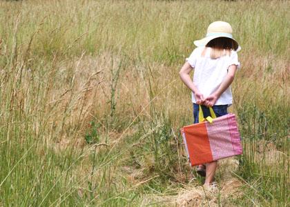 Cartera portafolio para niñas ~ Portal de Manualidades