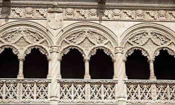 Patio de San Gregorio del Colegio de San Gregorio de Valladolid