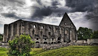 Монастырь святой Биргитты - самый узнаваемый символ Таллинна