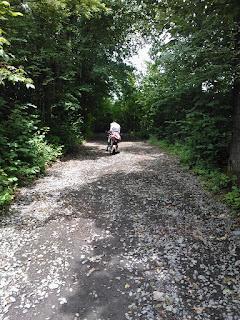Zagubieni w morawskich lasach :) - wyprawa rowerowa Czechy 2012