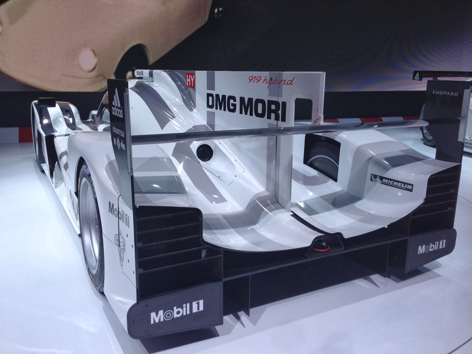 Porsche 919 at Geneva Motor Show