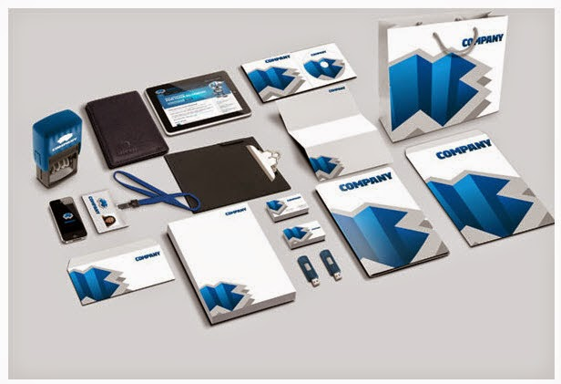 PSD Corporate Identity Mockup Part 2 (Free Download)