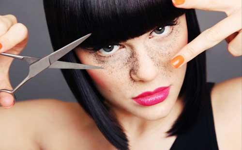 cortarte flequillo tu misma