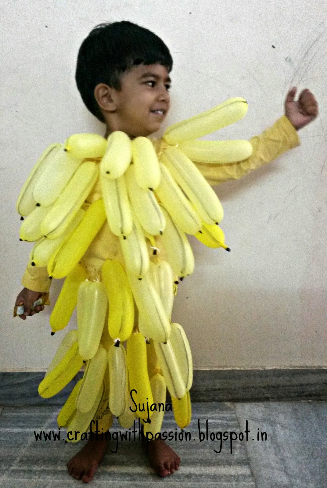 Bunch Of Bananas Fancy Dress Costume