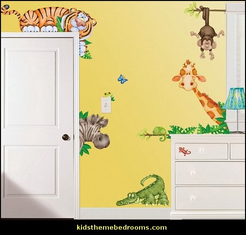 Jungle Wall Decor For Nursery : Decorating theme bedrooms maries manor jungle baby
