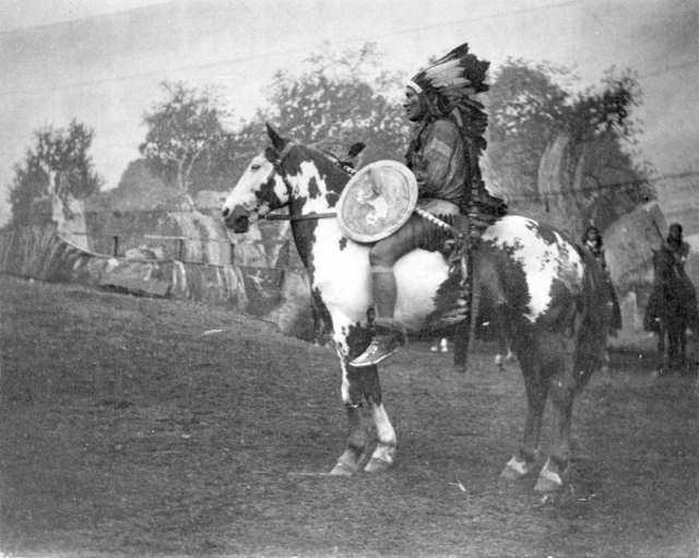 Historiske Heste Indianerheste Spøgelseshestene Siden 2014 Af