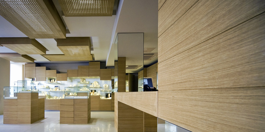 Jewellery Store Interior Design Zlatarna Celje Maribor - Eastern-design-office-designed-the-mostip-shoe-shop