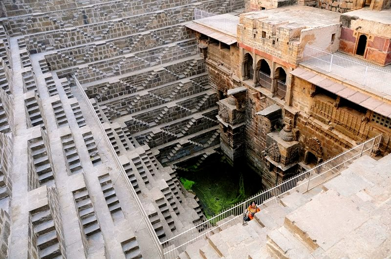 The Magnificent Structure of Ancient Step well, Chand Baori | Rajasthan India