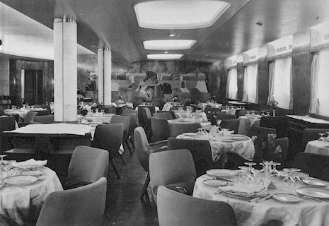 Ocean superliners the andrea doria part 3 interiors for Andrea s interior design gallery